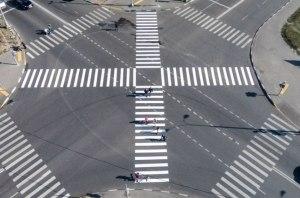 На украинских дорогах могут появиться «косые зебры»