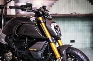 Мотоцикл Ducati Diavel 1260 S Materico представлен в рамках Недели дизайна в Милане