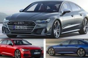 Audi показала сразу три новинки - седан S6, S6 Avanat и S7