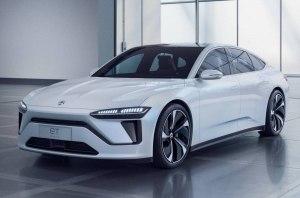 Китайская Nio представила свой первый электрический седан ET Preview