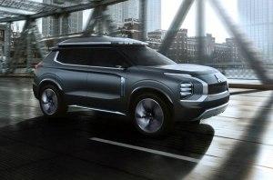 Mitsubishi привезла в Шанхай свой новый концепт e-Yi