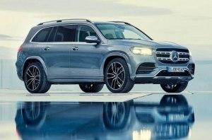 Mercedes-Benz представил новое поколение флагманского кроссовера GLS