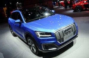 Audi показал электрический Q2L e-tron для Китая