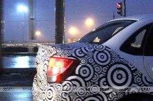 В Сети появились живые фотографии Lada Granta Sport