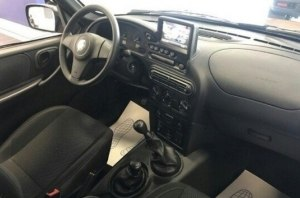 Опубликованы фотографии Chevrolet Niva с «планшетом» в салоне