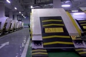 В Китае придумали способ увеличить вместимость паркинга