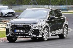 Прототип «заряженного» Audi RS Q3 поймали на тестах