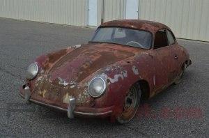 Ржавый Porsche 356 оказался дороже нового «Кайена»