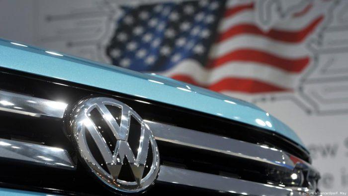 Автомобили марки Volkswagen из Соединенных Штатов Америки